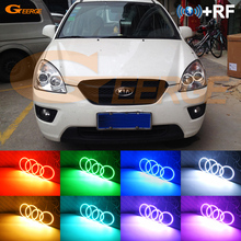 For KIA Carens 2006 2007 2008 2009 2010 2011 2012 Excellent Multi-Color Ultra bright RGB LED Angel Eyes kit Halo Rings