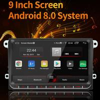 9 inch 2 Din Car radio Multimedia Video Player Universal auto Stereo Android System GPS Navigation Integrated Host for VW