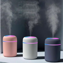 Umidificador de ar portátil 300ml ultra-sônico aroma difusor do óleo essencial usb fabricante névoa fria purificador aromaterapia para casa carro