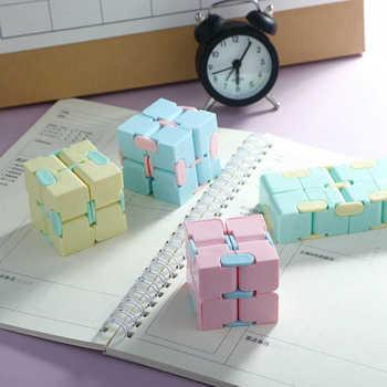 Zabawki typu Fidget nieskończoność magiczna kostka łamigłówka relief stres odwróć Cubic dzieci dorosłych dekompresji zabawki gry cztery rogu zabawka labirynt prezent tanie i dobre opinie TAKARA TOMY CN (pochodzenie) 7-12m 25-36m 7-12y 12 + y 4-6y 13-24m W wieku 0-6m pop it fidget toys fidget toys pack Chiny certyfikat (3C)