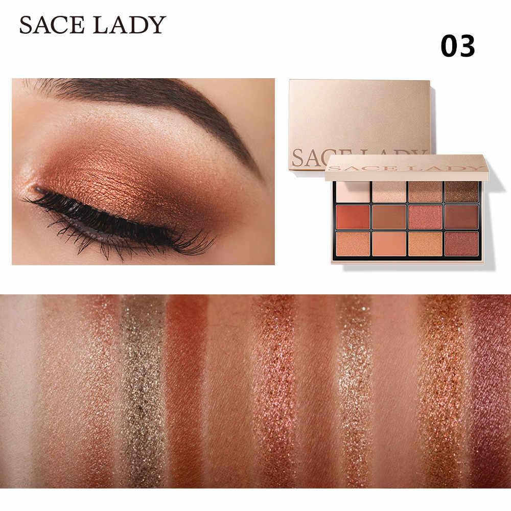 Sace Lady Oogschaduw Palet Make-Up Glitter Oogschaduw Palet Professionele Matte Shadow Make Up Hoge Pigment Naakt Cosmetische