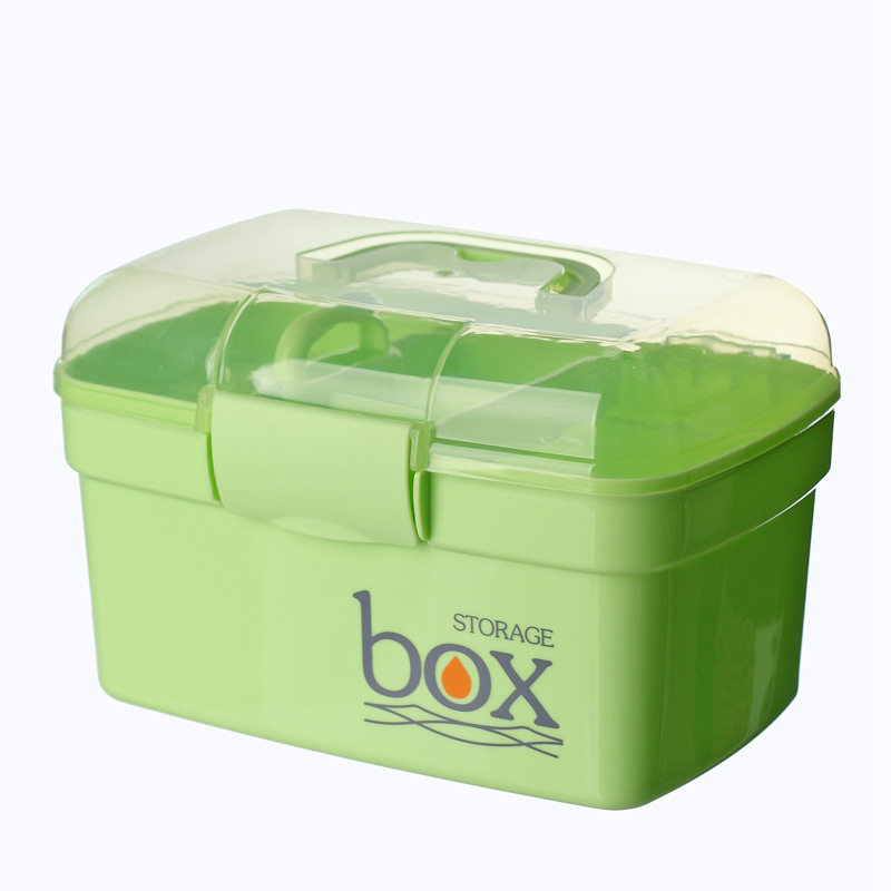 Macarons Color Home First Aid Kit Manicure Toolbox Foot Technician Special Box Art Tool Storage