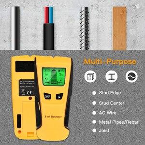 Image 4 - Vastar Detector de Metales 3 en 1, detecta tacos de madera, Metal, voltaje CA, cable en vivo, escáner de pared, Detector de caja eléctrica, Detector de pared