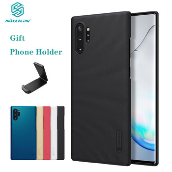 For Samsung Galaxy Note 10 10+ Plus Pro 5G Case Cover Nillkin Super Frosted Shield Hard PC Back Cover For Samsung Note10 Plus 5G
