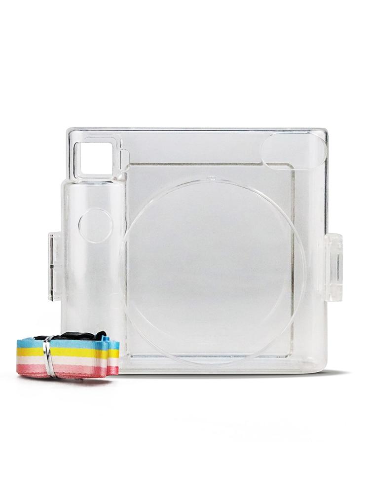 Для Fujifilm Instax Square SQ1 прозрачный мини ПВХ чехол для переноски сумка жесткий чехол защитный чехол с плечевым ремнем|Чехлы для экшн-камер| | АлиЭкспресс