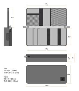 Image 3 - DD C 2019 Tragbare Multi zweck Handtasche Box für FIIO M11/FH7/BTR3/F9 PRO SHANLING UP2/M5S/MWS HIFI Musik Player Kopfhörer