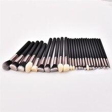 25PCS Makeup Brushes Set Beauty Cosmetics Blending EyeShadow Lip Powder Foundation Pincel Maquiagem Tool T25003 недорого