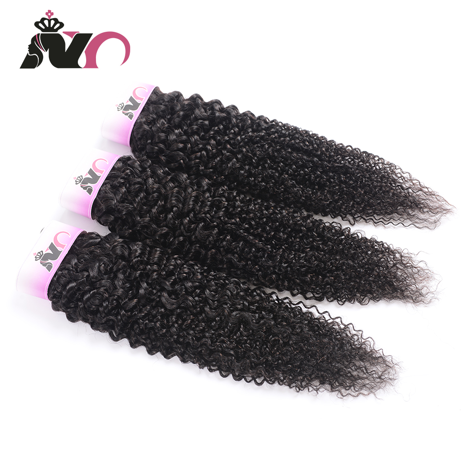 NY Human Remy Hair 3 Bundles Deals Kinky Curly Peruvian Hair Bundles Natural Color Human Hair Weave Bundles Hair Extension