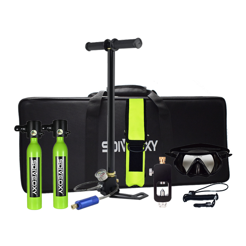 Diving Oxygen Tank Diver Spare Oxygen Equipment Leisure Diving Oxygen Tank Snorkeling Enthusiast Oxygen Tank
