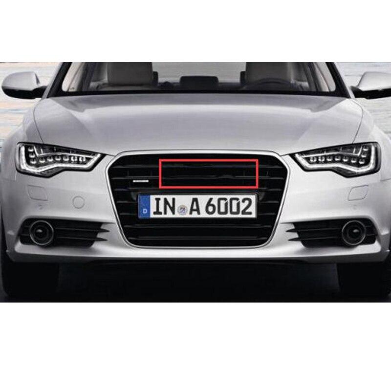 شعار شعار أسود لامع لسيارة أودي A3 A4 A4L A6L TT Q3 Q5 Q7 A5 A7 RS3 RS4 RS5 RS6 خواتم أمامية وسطى ملصق شعار الشارة