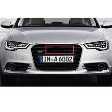 Glossy Black Emblem Logo for Audi A3 A4 A4L A6L TT Q3 Q5 Q7 A5 A7 RS3 RS4 RS5 RS6 Front Middle Rings Grille Badge Trunk Sticker накладки на педали audi q5 a4l a5 a6l a3 a7