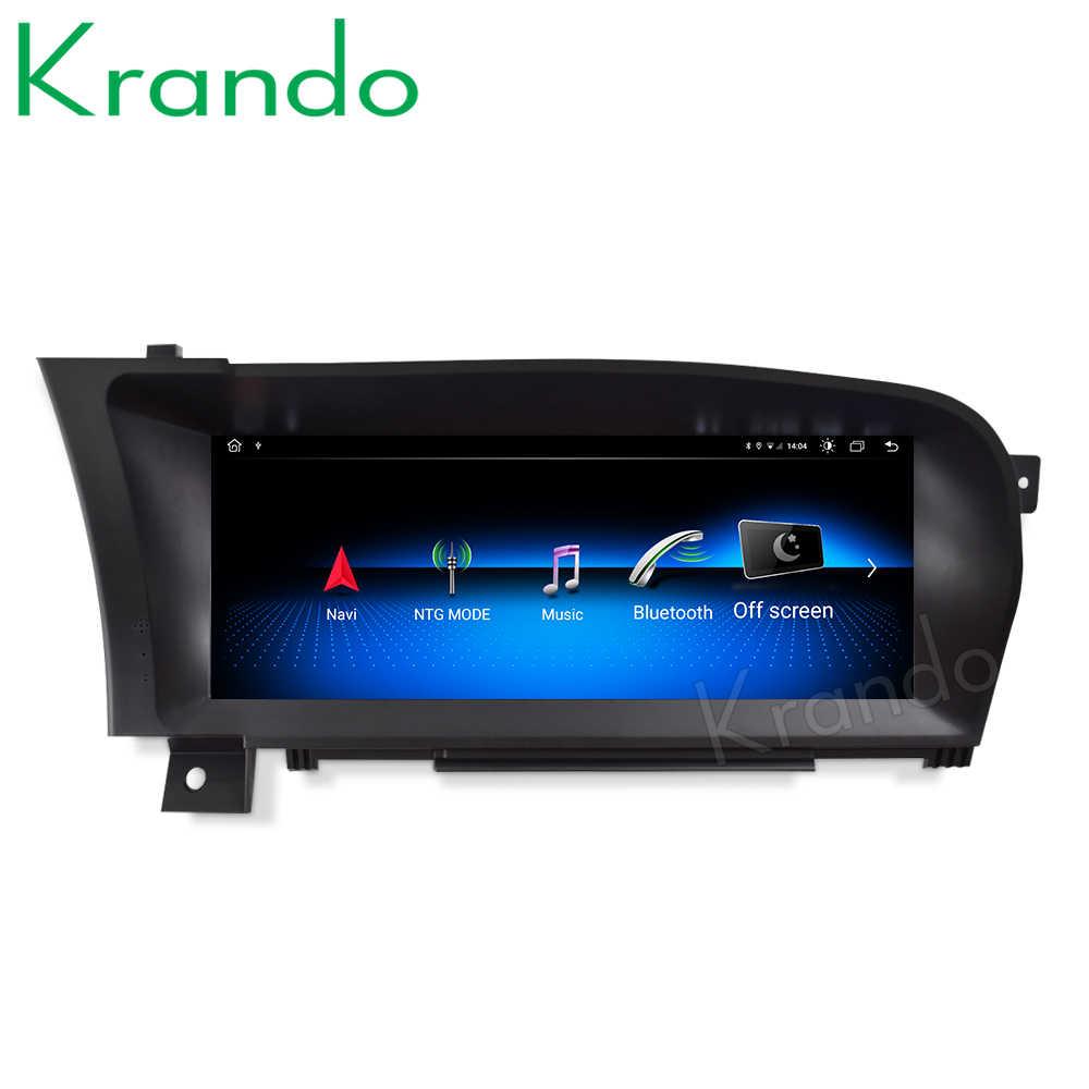 Krando Android 10.0 10.25 ''Auto Radio Dvd Navigatie Voor Mercedes Benz S W221 W216 Cl 2005-2013 Multimedia speler 4G Lte
