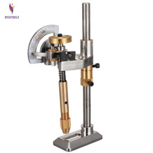Gemstone Angle Flat Polishing Copper Manipulator Grinding Machine Height Adjustment Jade Lapidary Faceting Machine With Scale