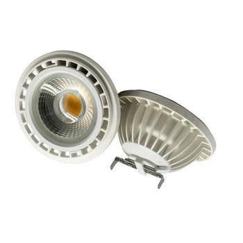 1 قطع الساخن بيع AR111 15 واط led cob النازل g53 و gu10 مصباح قاعدة led الأضواء dc12v ac110-240v ar111 led لمبة أضواء 1