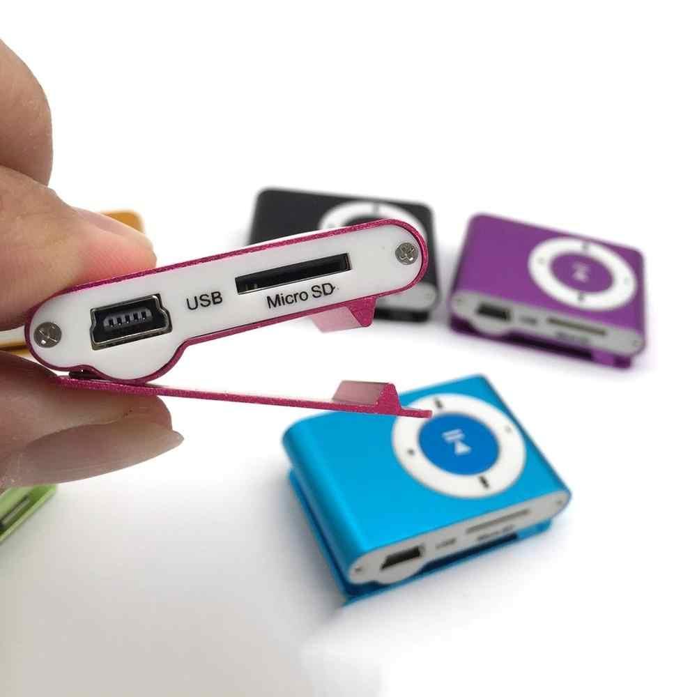 Screenless klips do kartek odtwarzacz Mp3 Student odtwarzacz sportowy przenośny Metal Mp3 żelazo kreatywny dźwięk dotykowy pamięć Flash <10 godzin ONLENY