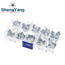 BC337 BC327 2N2222 2N2907 2N3904 2N3906 S8050 S8550 A1015 C1815 Kit de surtido de transistores valor 10 200 Uds... transistores Paquete de caja
