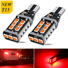 2 pçs t15 w16w t16 led canbus lâmpadas led backup do carro luzes reversas xenon branco 12v para vw touran polo bora tiguan caddy cc gti