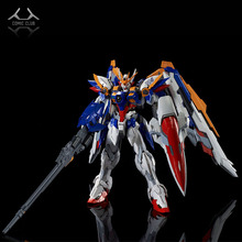 COMIC CLUB instock MJH mojianghun hirm style version wing gundam zero ew KA MG 1/100 action assembly figure robot toy