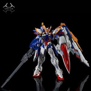 Image 1 - COMIC CLUB instock MJH mojianghun hirm style version wing gundam zero ew KA MG 1/100 action assembly figure robot toy