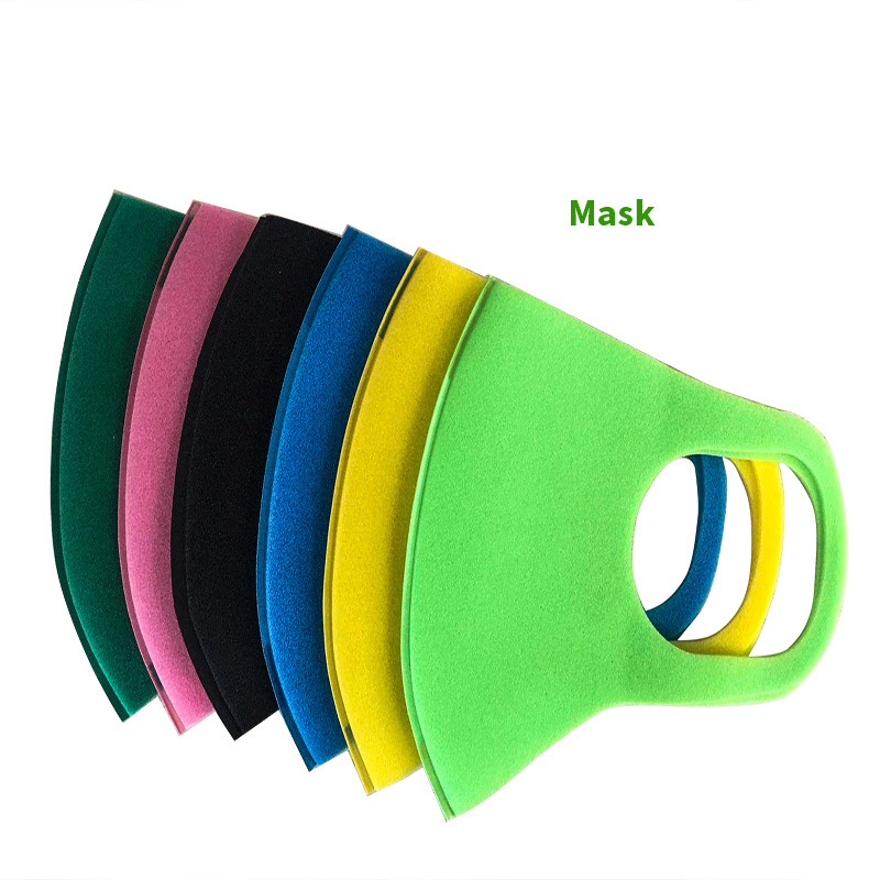 3Pcs Children Mouth Mask Anti Dust Haze Sponge Mouth Face Mask Respirator Masks Bacteria Proof Face Masks Care With 6 Color