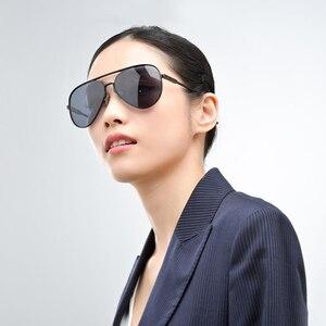 Image 2 - 100% Origianl Xiaomi Mijia Aviator Pilot Traveler Sunglasses Polarized Lens Sunglasses for Man and Woman mi life Sunglas
