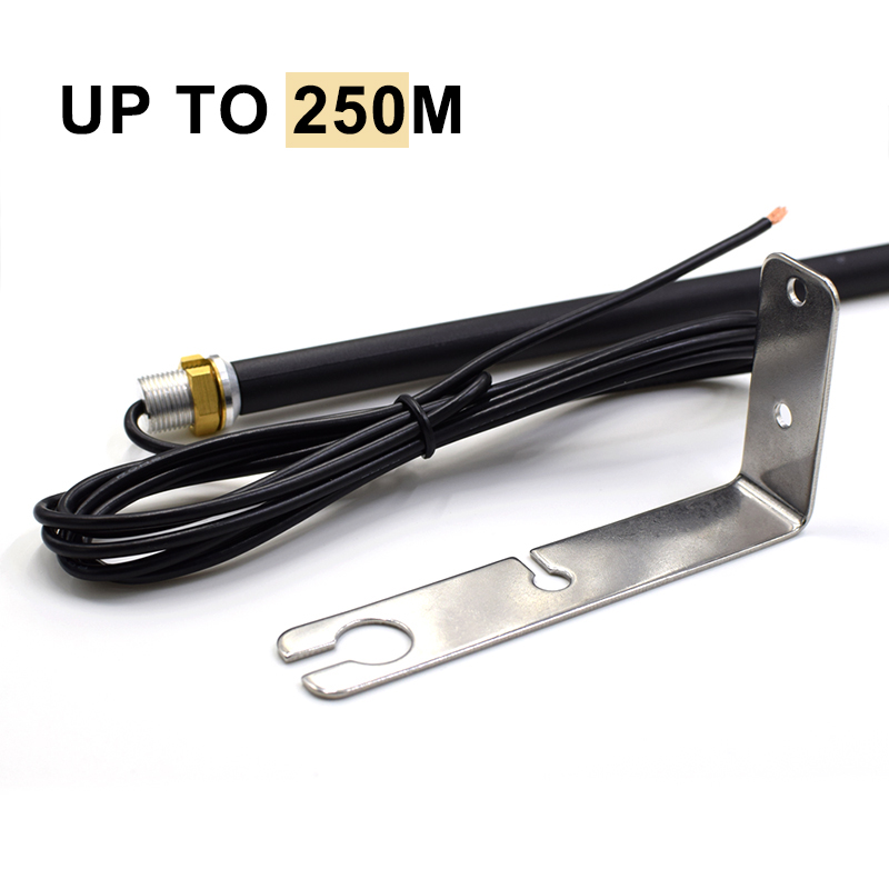 Free Shipping 433MHZ High Gain Antenna Outdoor Waterproof Remote Control Aerial For Gate Garage Door Antenna