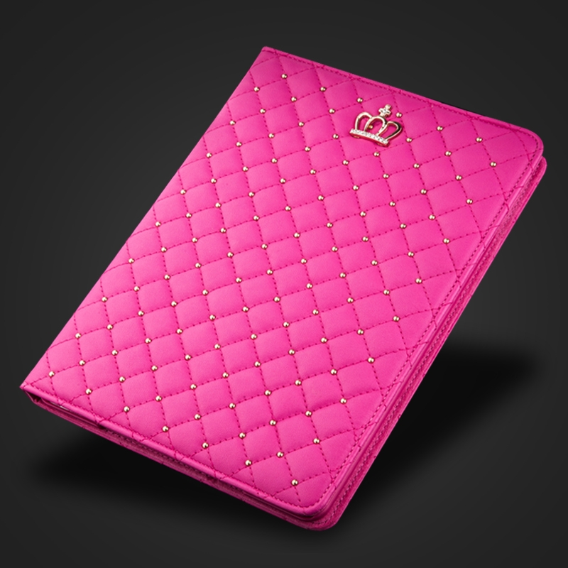 7.9'' Luxury Crown <font><b>Coque</b></font> for <font><b>iPad</b></font> mini 2 3 Smart Case <font><b>A1432</b></font> A1454 A1490 Magnetic PU Leather for <font><b>iPad</b></font> mini 2 mini 3 Stand Cover image
