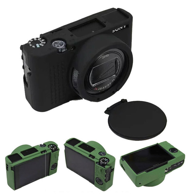 Nice Silicone Camera Case For Sony Cyber-Shot RX100 VII RX100VII RX100 Mark VII RX100M7 Rubber Skin Cover
