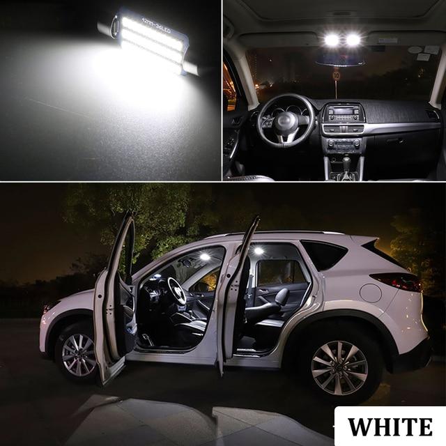 BMTxms For Audi A3 8L 8V 8P A4 B5 B6 B7 B8 A5 A6 C5 C6 C7 A7 A8 D2 D3 Canbus Vehicle LED Interior Map Dome Trunk Light Kit 4
