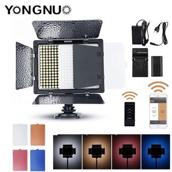 YONGNUO YN300 III YN-300 III 3200k-5500K CRI95 Camera Photo LED Video Light Optional with AC Power Adapter + Battery KIT