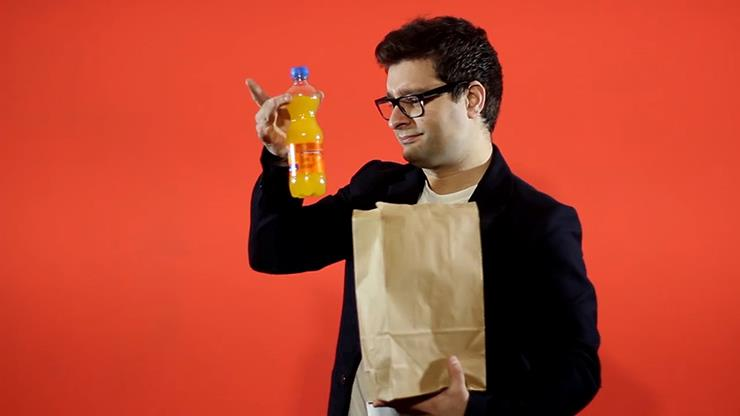 Astonishing Bottle By Joao Miranda And Ramon Amaral,Magic Tricks