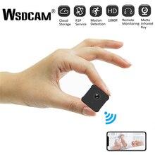 Minicámara A12 de seguridad para el hogar, WiFi, visión nocturna, 1080P, vigilancia inalámbrica, Monitor remoto, aplicación de teléfono, videocámara DVR
