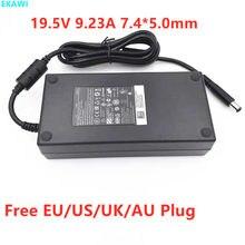 Genuine 19.5V 9.23A 180W 7.4*5.0 milímetros Adaptador Do Portátil para Dell Precision M4600 DA180PM111 M4700 M4800 G7 7588 P72F R3 Carregador de Energia