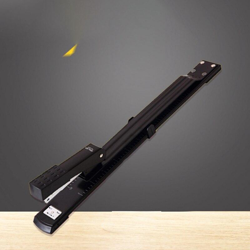 Long Arm Stapler 0334 Metal Special A3 Sewing Machine Staple Lengthening Stapler Paper  Office Stapler Bookbinding Supplies