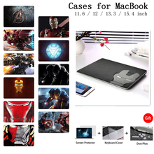 Laptop Case For Macbook 12 Air 13 Pro Retina 13 15 Case For Apple MacBook Case Pro 13 15 Touch Bar A2159 Shell Keyboard Cover цена и фото