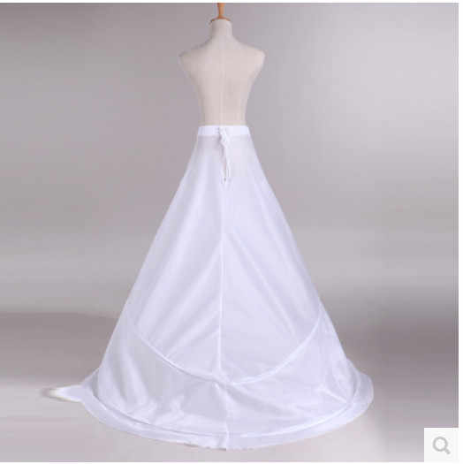 Enaguas Unterrock Hochzeit Rock Slip Hochzeit Zubehör Chemise 2 Hoops Für EINE Linie Schwanz Kleid Petticoat Krinoline