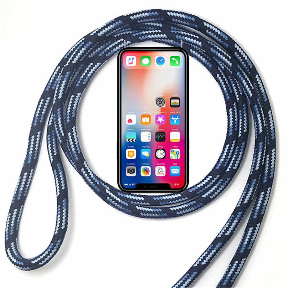Tpu 電話ケース Leagoo M7 M8 M9 S8 プロ M11 M5 プラス Z7 S9 T8 T8S ネックレスショルダーネックストラップロープコードカバー