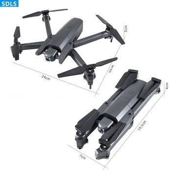 Ã�ニドローン 4 18K HD Wifi FPV Â�メラ Quadcopter Ɗ�りたたみ RC Ã�リコプターオプティカルフローセンサポジショニングおもちゃ Selfie Ǿ�容ビデオ/ ņ�真 Dron