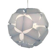 35 см DIY цветок шар современный абажур круговой ремесло лампа дом крышка домашний декор