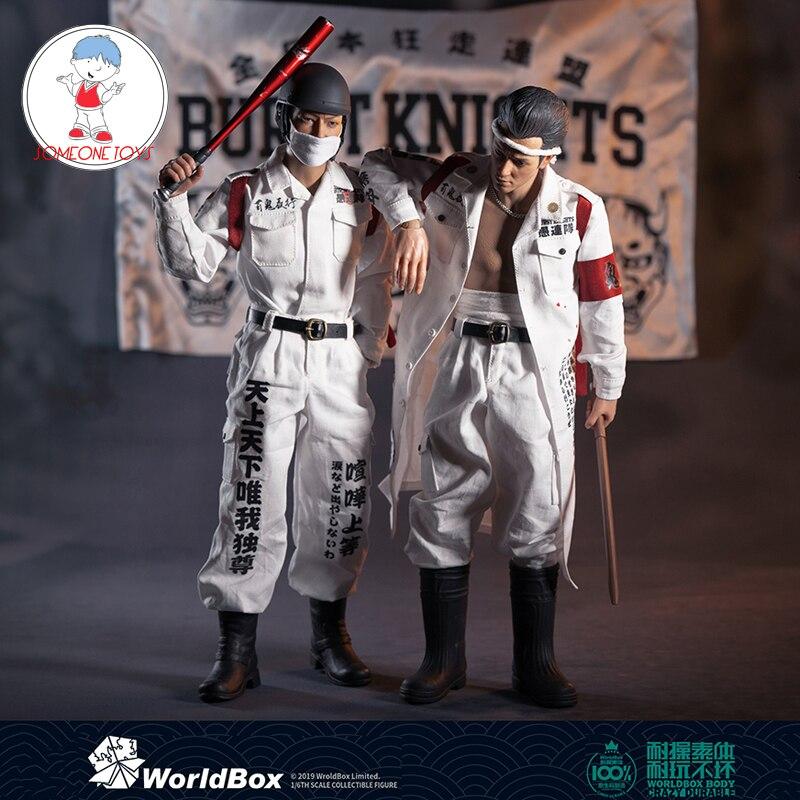 World Box AT028/AT029 1/6 весы Bousouzoku коллекционные японские Моб Базз Cut мужские фигурки