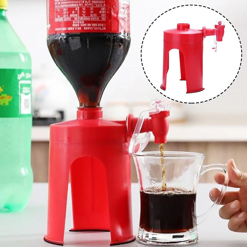 Saver Soda Dispenser Magic Tap Drinking Water Dispense Bottle Upside Down Coke Drink Dispenser Party Bar