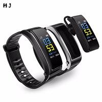 Reloj inteligente Y3 Plus 2 en 1 para hombre y mujer, pulsera deportiva con podómetro, con auriculares y Bluetooth