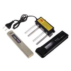 Elektrolizer z bezpiecznikiem ue wtyczka LCD cyfrowy miernik tds jakość wody czystość filtr zestaw testowy wysoka jakość|Mierniki pH|Narzędzia -