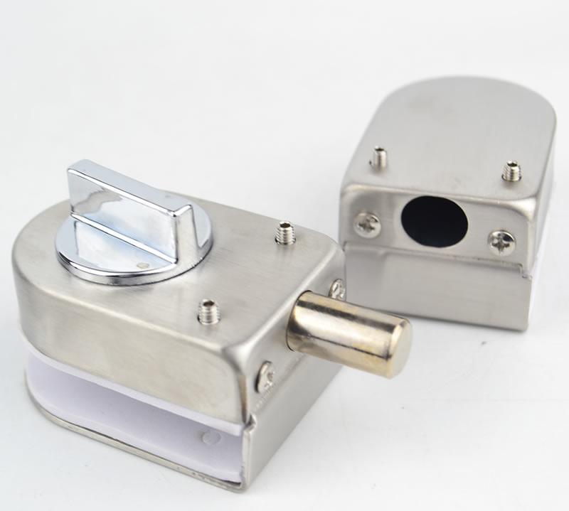 Un par de 90 grados montaje lateral puerta de vidrio armario vitrina gabinete abrazadera bisagra