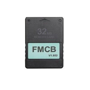 Image 5 - FMCB משלוח McBoot כרטיס עבור Sony PS2 עבור Playstation2 8MB/16MB/32MB/64MB זיכרון כרטיס v1.953 OPL MC אתחול