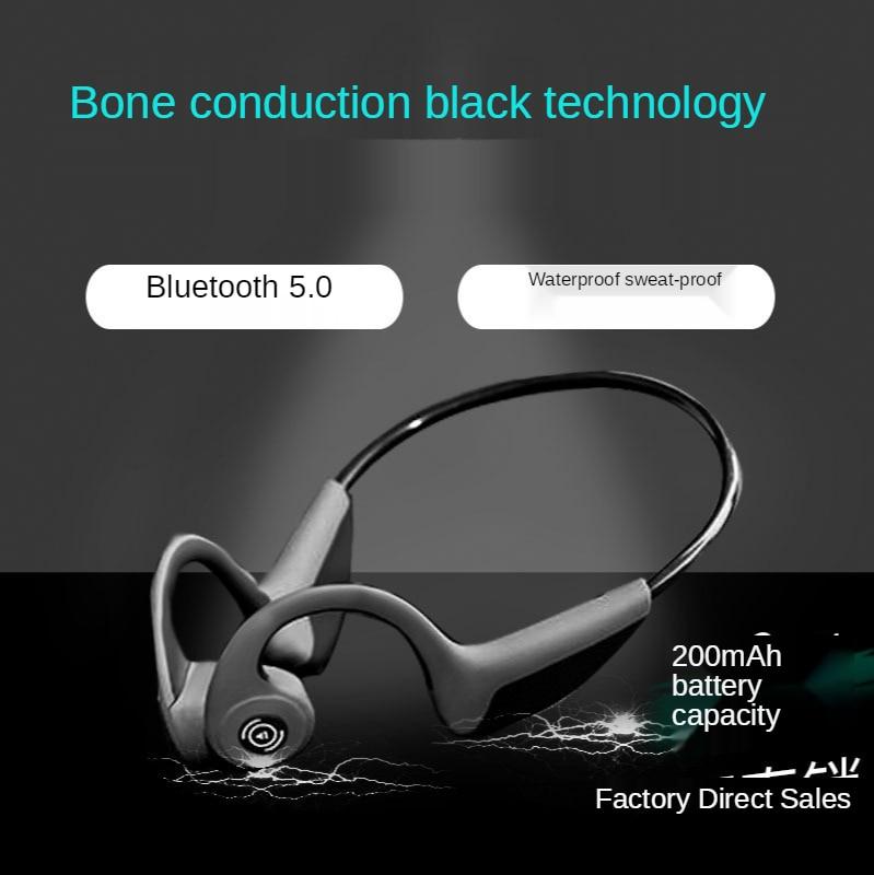 Bluetooth-гарнитура FMJ Z8 с костной проводимостью, беспроводное движение, Bluetooth 5,0, стерео гарнитура с костной проводимостью, Прямая продажа с фабр...