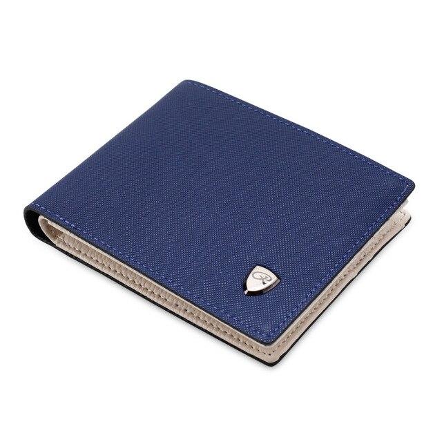 portefeuille homme tissu bleu