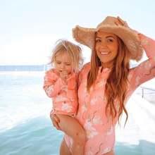 2020 Семейные купальные костюмы бикини для мамы и девочки купальник