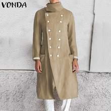 2019 Fashion Autumn Trench Coats For Women Slim Wild Medium length Female Windbr