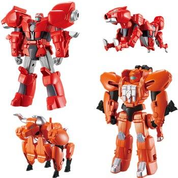Novedad de 2020, figura de acción de una pieza, animé transformó a la bestia de la guerra, juguete de transformación para niños, robot de deformación, regalo para niños